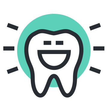 icon happy tooth